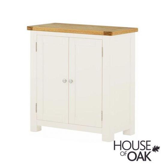 Portman Painted 2 Door Cabinet in White