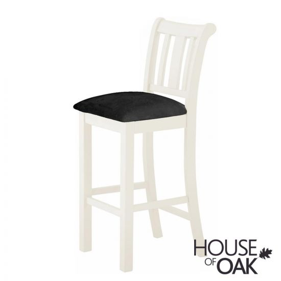 Portman Painted Bar Stool in White