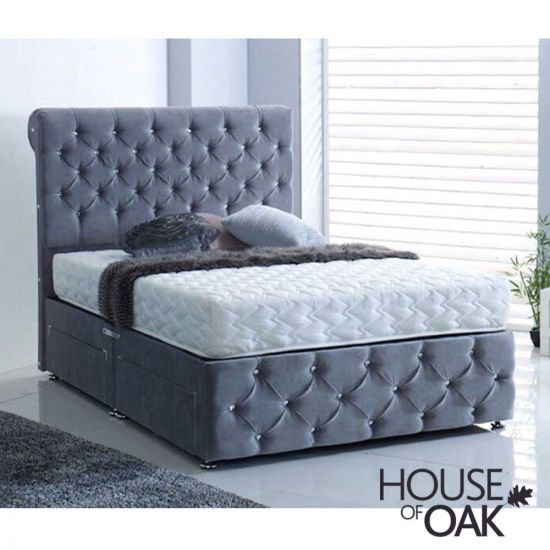 Romney 4-Drawer Fabric Bed
