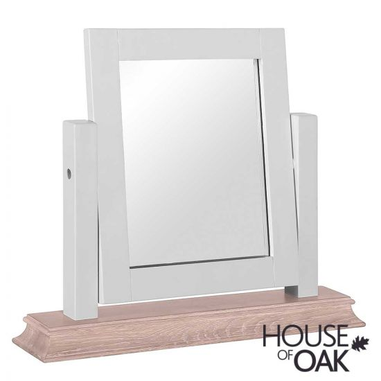 Port Light Grey Trinket Mirror