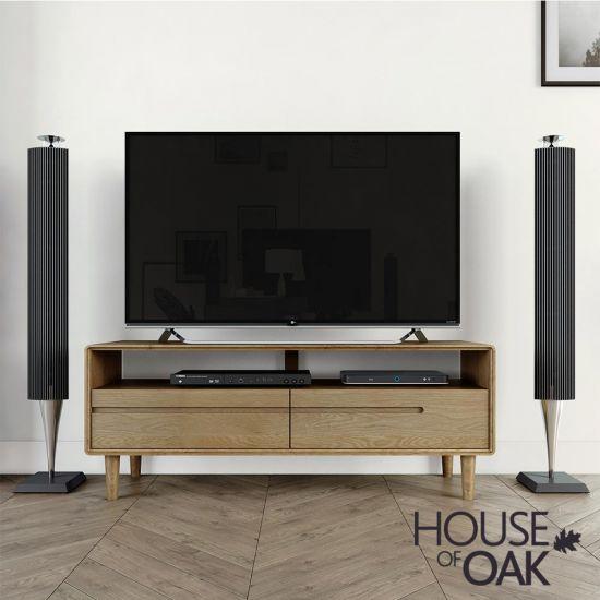 Scandic Oak Medium TV Unit