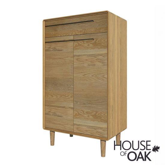 Scandic Oak - Shoe Cabinet