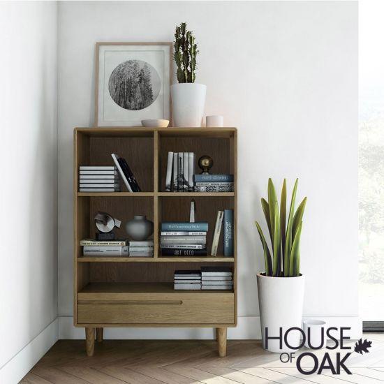 Scandic Oak - Small Bookcase