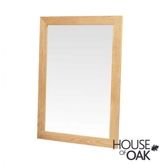 Modena Oak Wall Mirror
