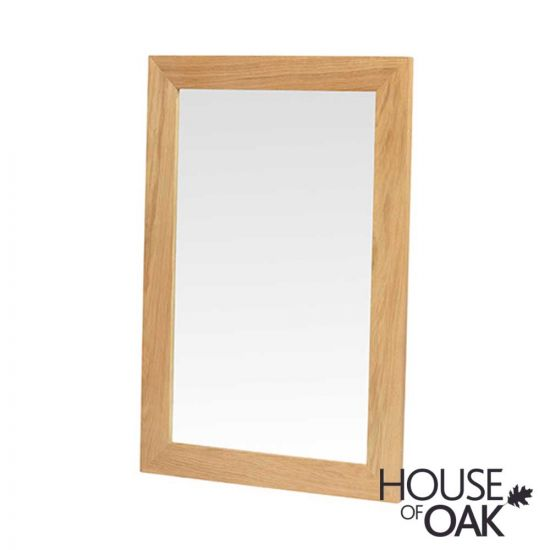 Modena Oak Small Wall Mirror