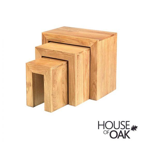 Modena Oak Nest of Tables