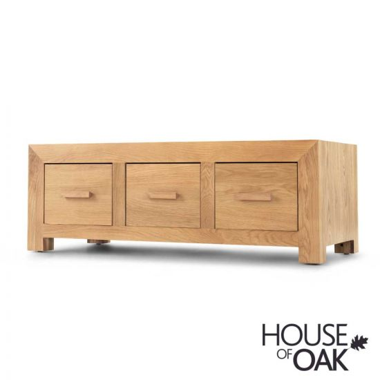 Modena Oak Coffee Table with 6 Drawers