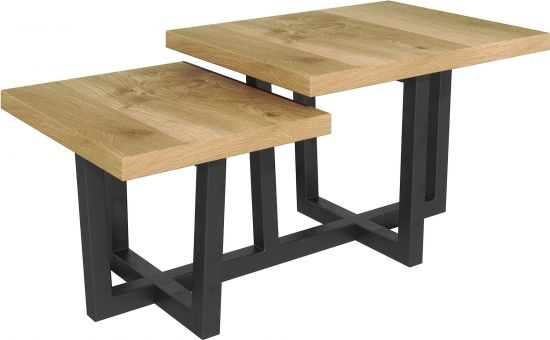 Harmony Oak Step Coffee Table