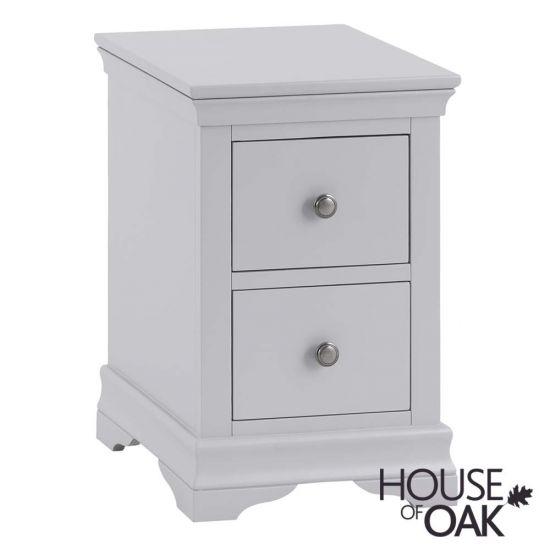 Chantilly Grey Bedside Cabinet