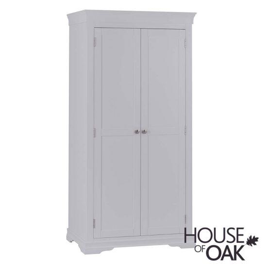 Chantilly Grey 2 Door Wardrobe