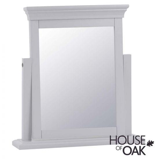 Chantilly Grey Trinket Mirror