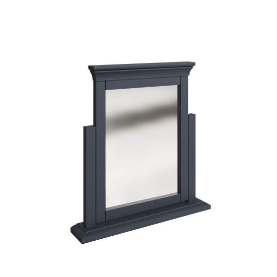 Chantilly Midnight Grey Trinket Mirror