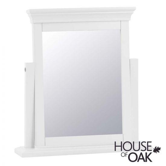Chantilly White Trinket Mirror