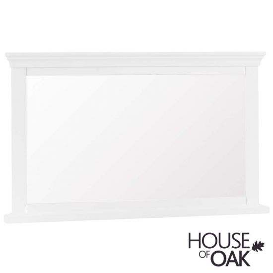 Chantilly White Wall Mirror