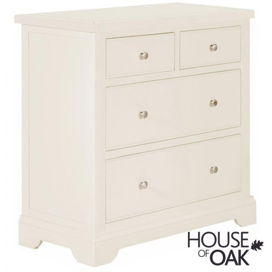 Symphony White 2 Over 2 Chest of Drawers