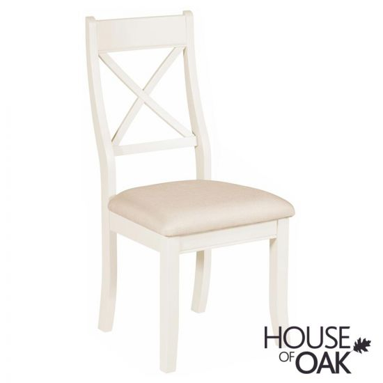 Symphony White Bedroom Chair