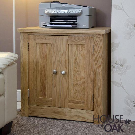 Torino Solid Oak Printer/Occasional Cupboard