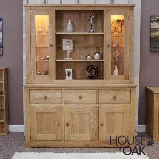 Torino Solid Oak Large Dresser