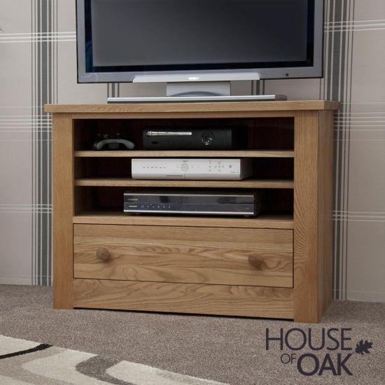 Torino Solid Oak TV Cabinet