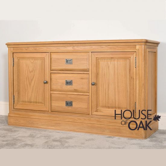 Lyon Oak Large Sideboard