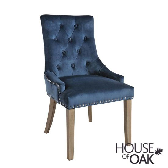 Vicky Chair - Prussian Blue