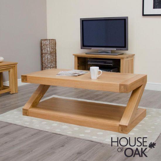 Z Oak 4ft x 2ft Coffee Table