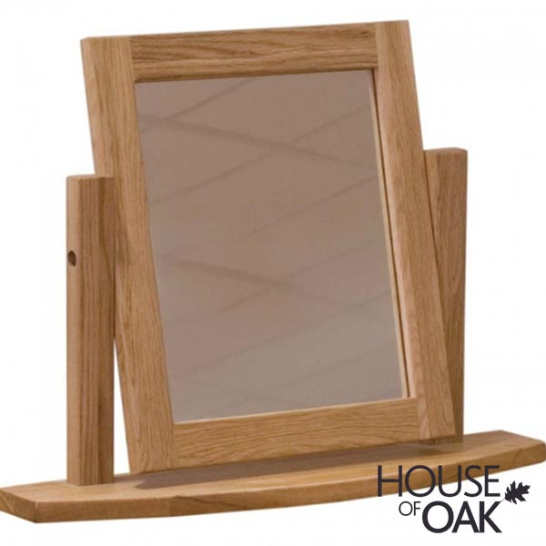 Opus Solid Oak Dressing Table Mirror