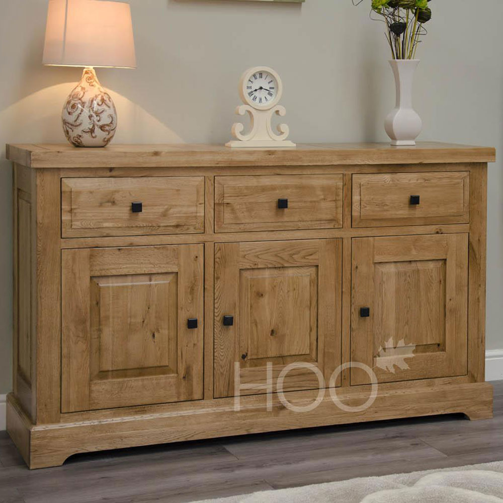 Deluxe Oak Large Sideboard