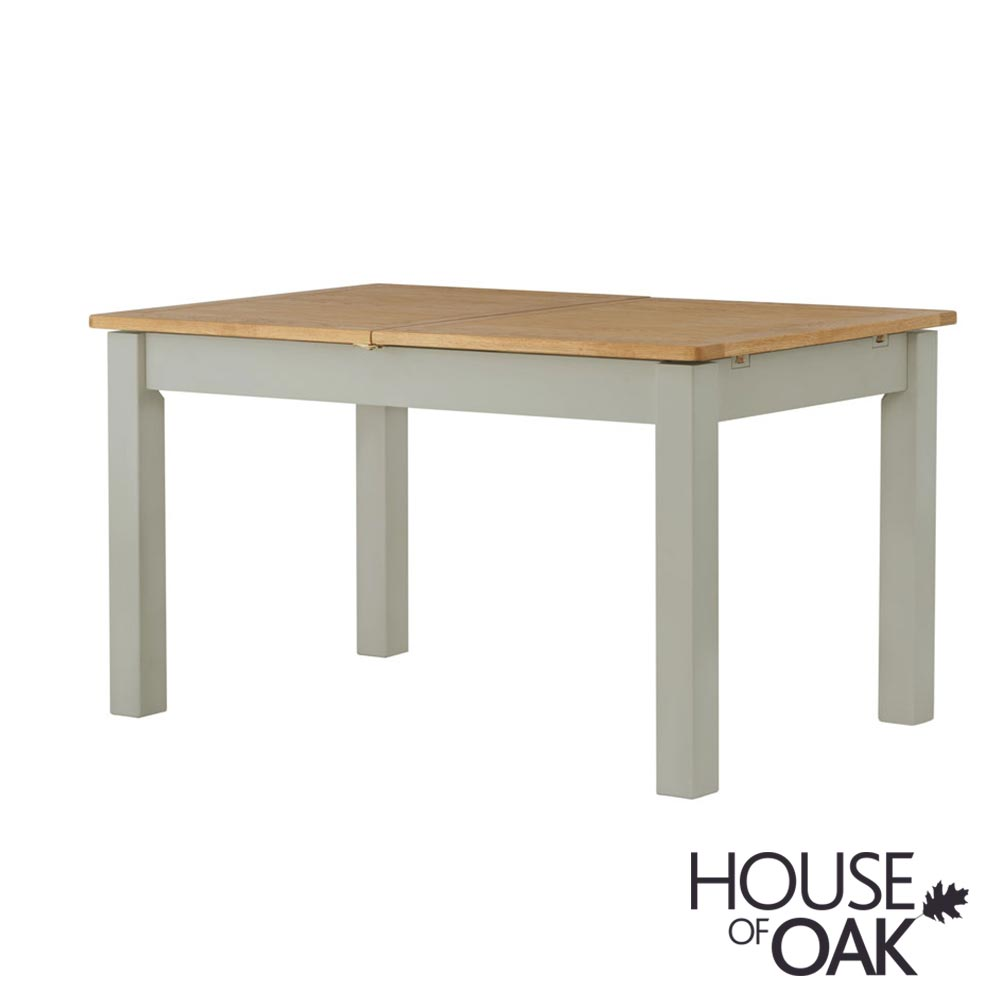 Portman Painted Extending Dining Table in Stone Grey