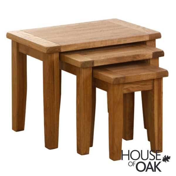 New Hampshire Oak Nest of Tables