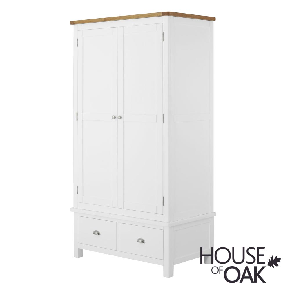 Portman Painted Gents Wardrobe in White
