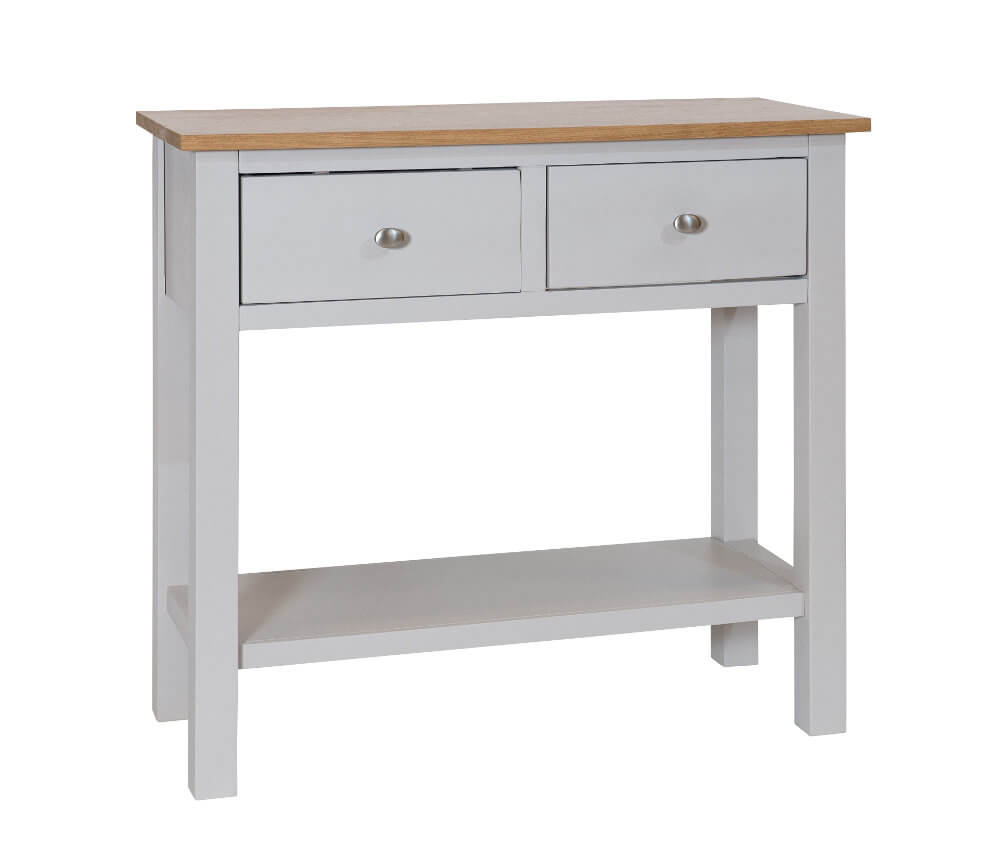 Simply Oak in Grey Large Telephone Table