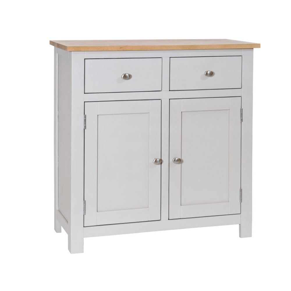 Simply Oak in Grey Small Sideboard