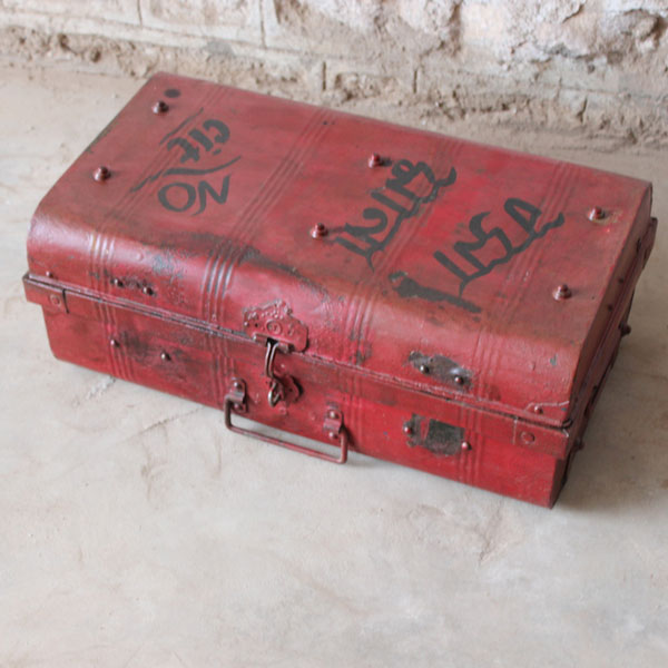One of A Kind Iron Suitcase