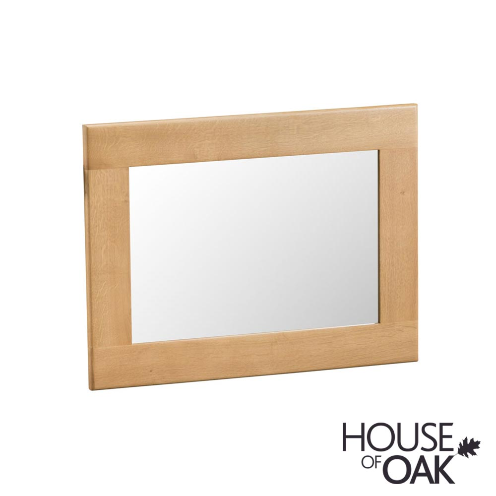 Harewood Oak Small Wall Mirror