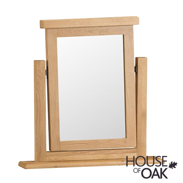 Harewood Oak Swivel Mirror