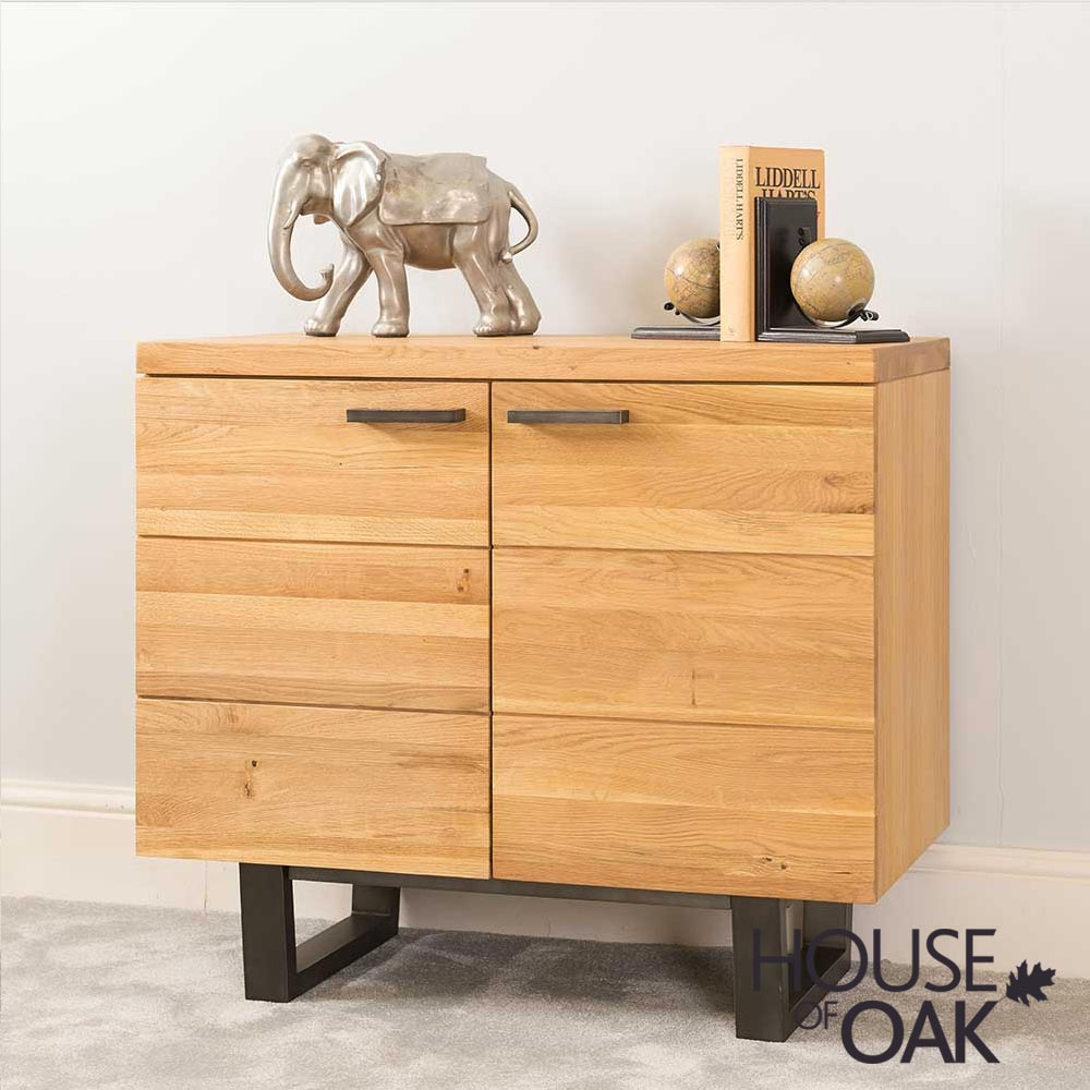 Harmony Oak - 2 Door Sideboard