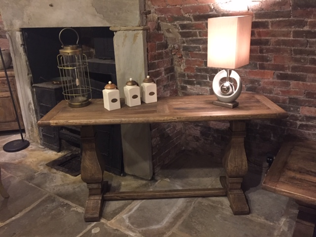 Hudson Bay Reclaimed Elm Console Table