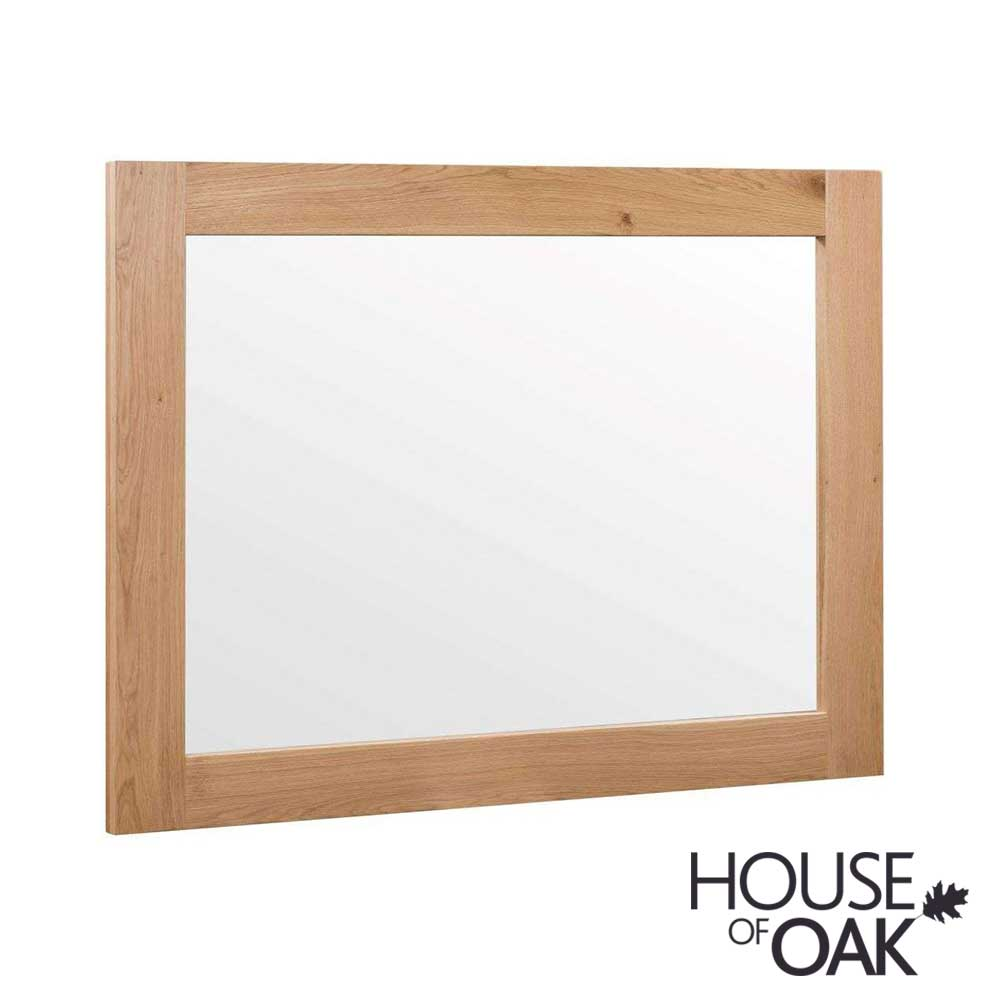 Forged Oak Wall Mirror
