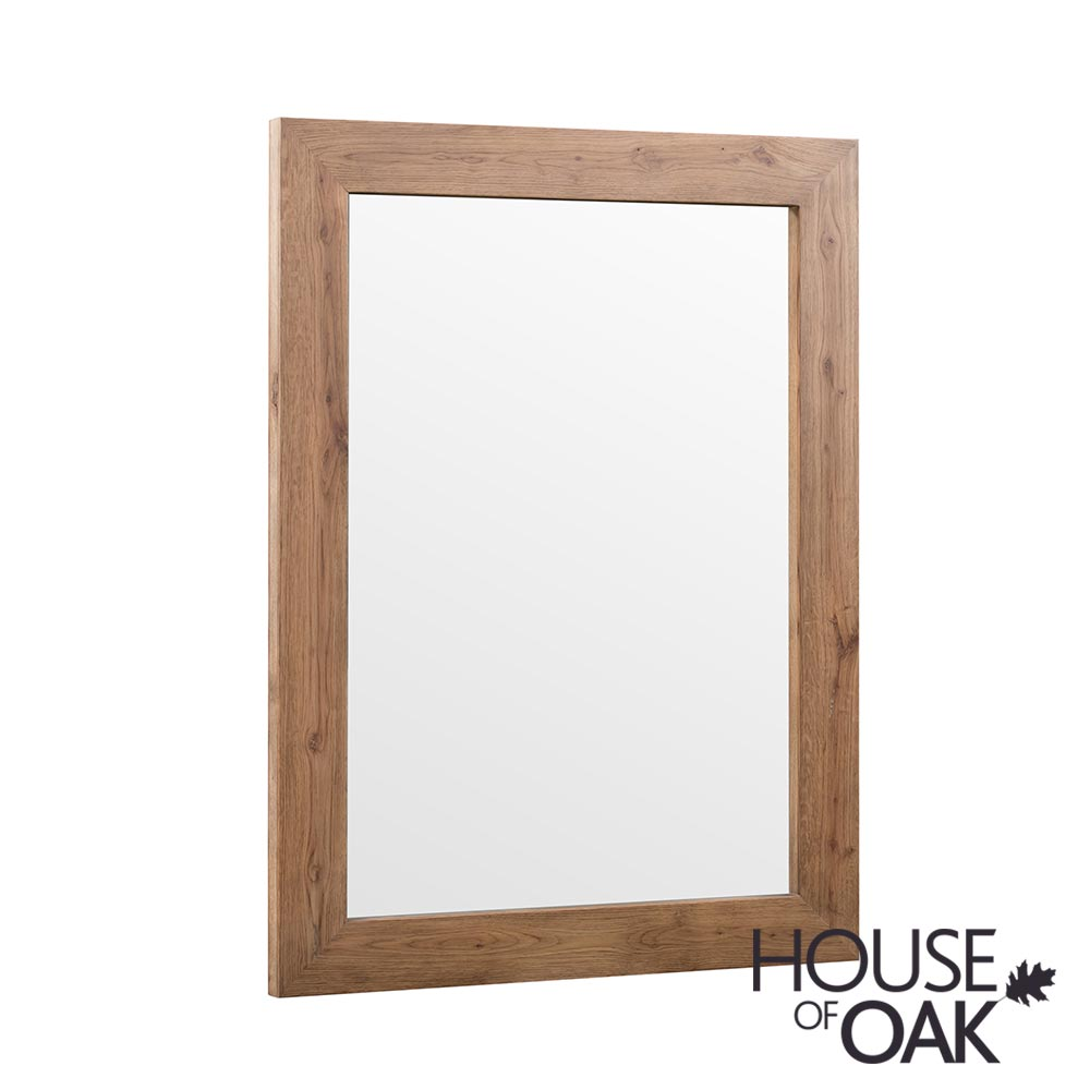 Parquet Oak Wall Mirror