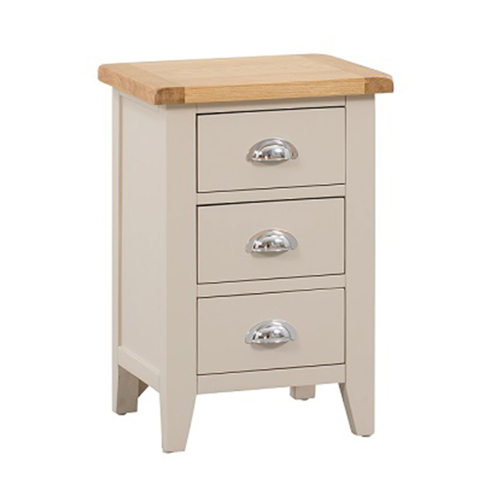 Chester Grey Painted Large Bedside Cabinet