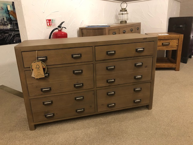 Tempest 6 Drawer Wide Chest