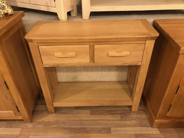 Westminster 2 Drawer Console Table