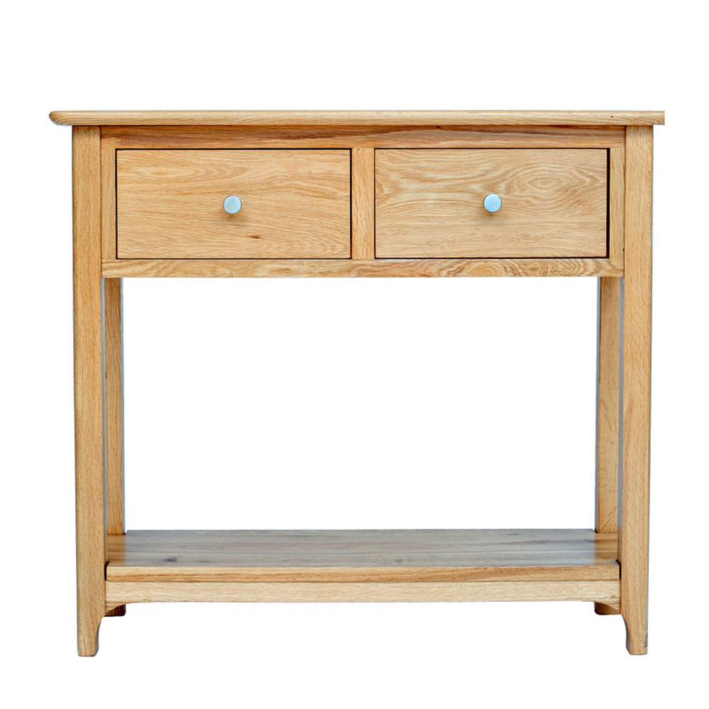 New England 2 Drawer Console Table