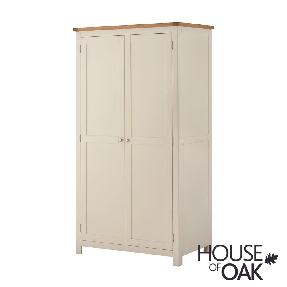 Portman Painted Ladies Wardrobe in Cream