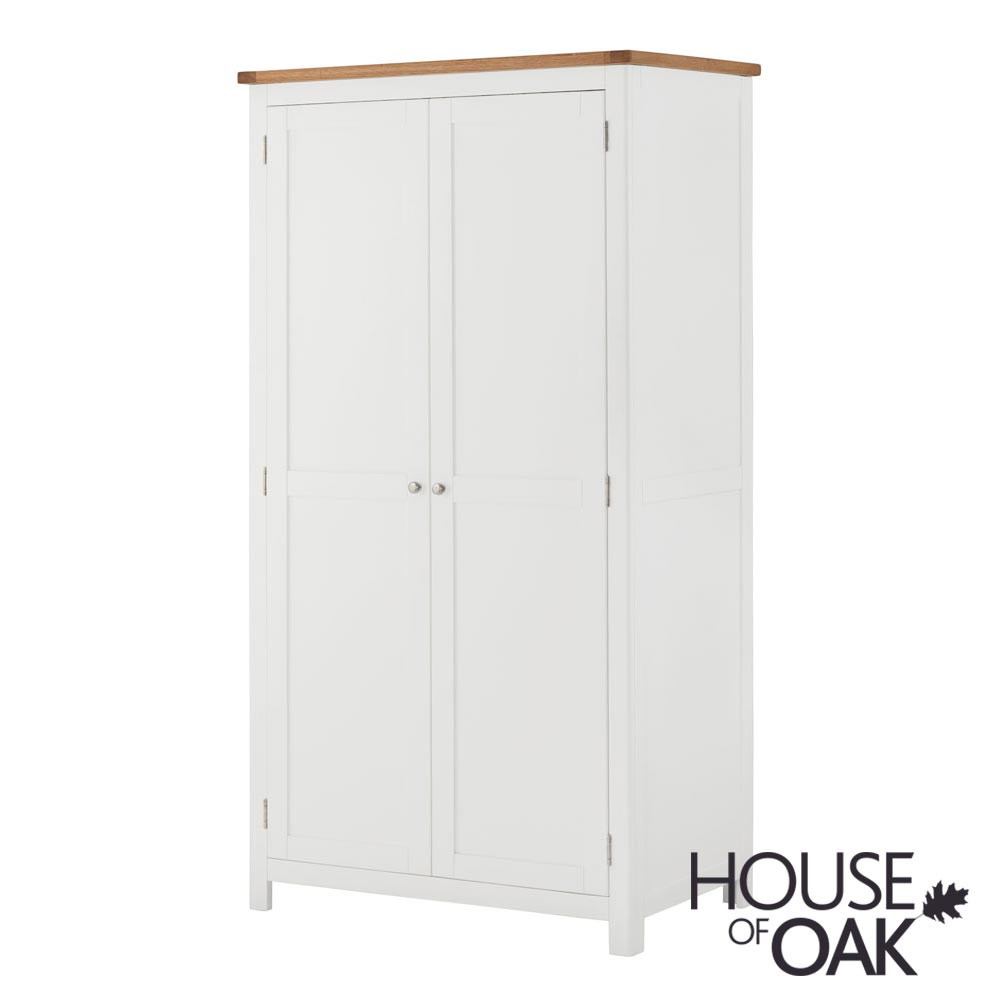 Portman Painted Ladies Wardrobe in White