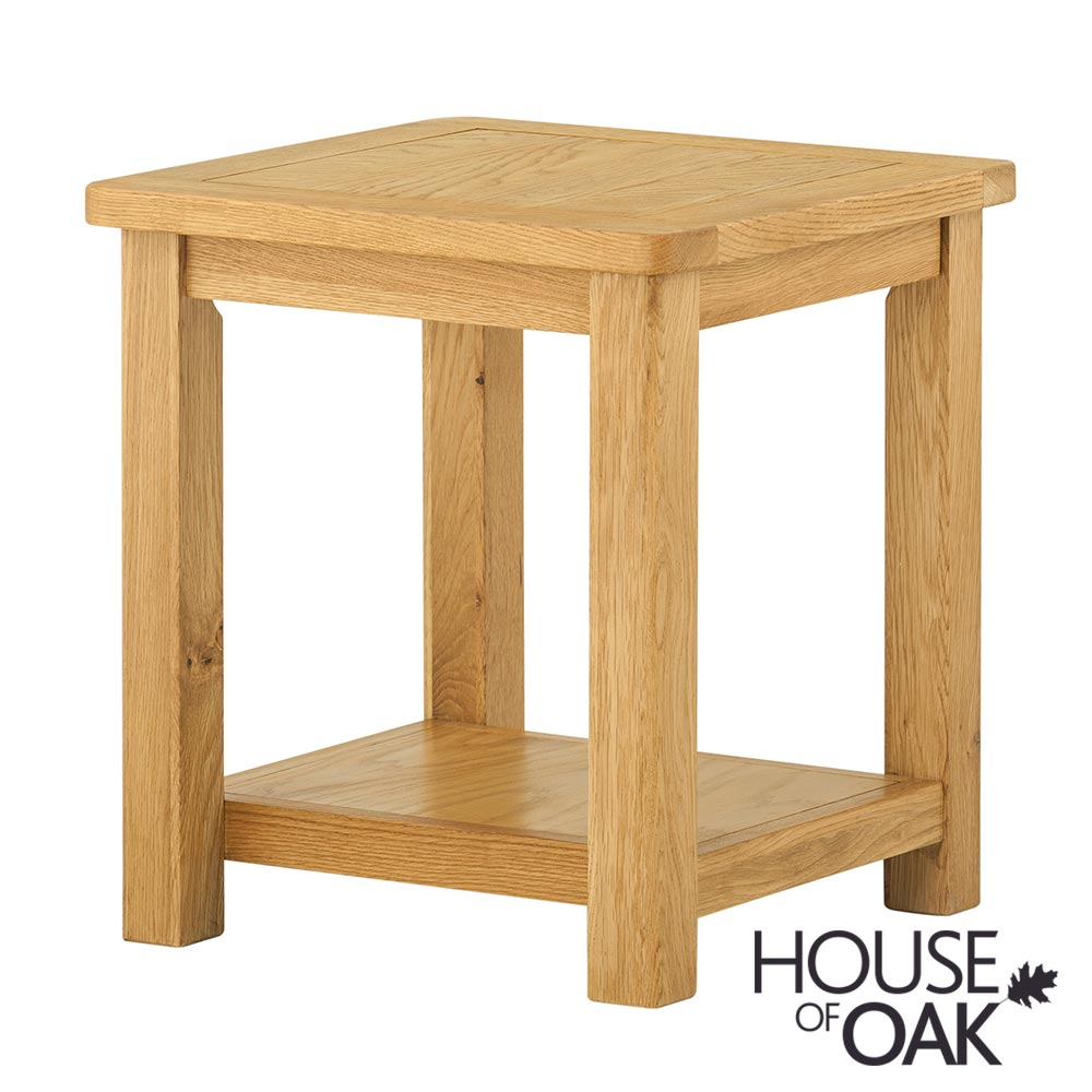 Portman Lamp Table in Oak