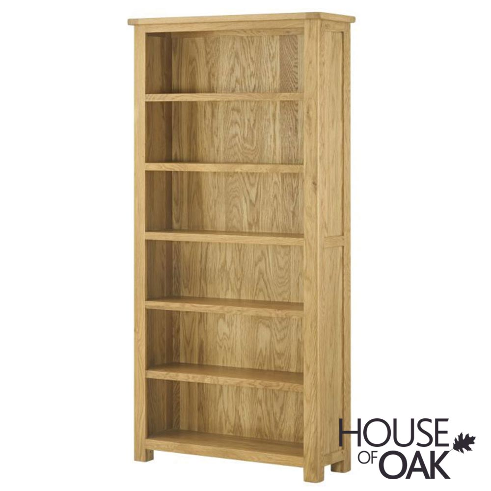 Portman Large Bookcase in Oak
