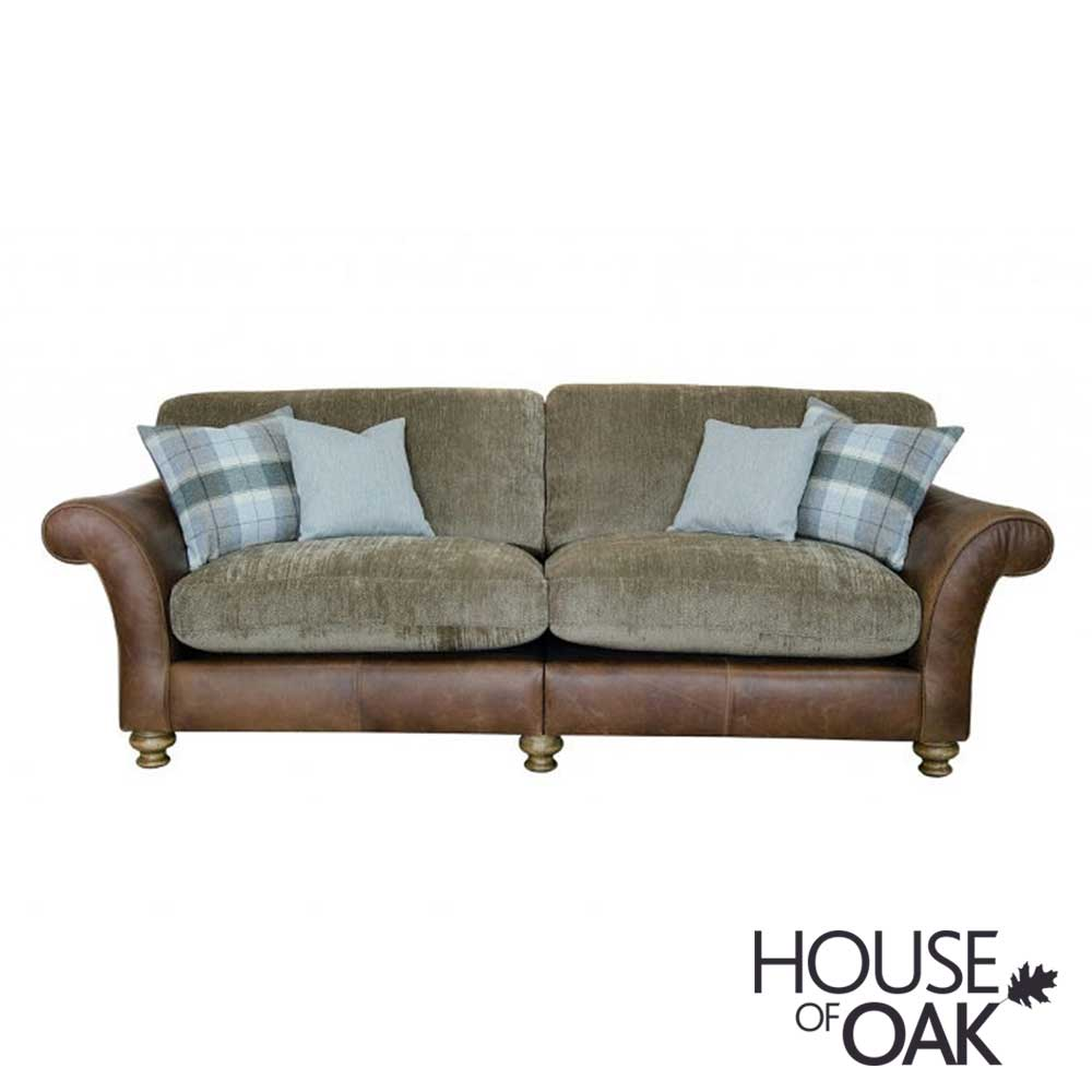 Alexander & James Lawrence 4 Seater Standard Back Sofa - Option 1