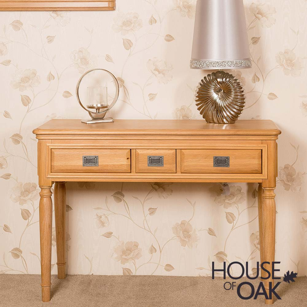 Lyon Oak Dressing Table
